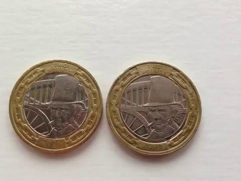 Royal Mint error, rare £2 coin 2006