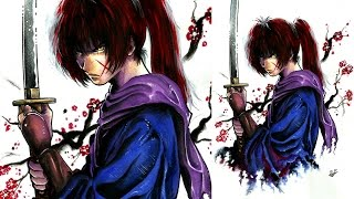Dibuja fácil a Kenshin Himura (Rurouni Kenshin)