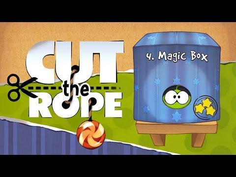 Cut the Rope - 4 Magic Box Walkthrough Android & iOS HD   Прохождение игры