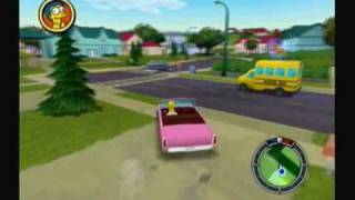 Let's Play The Simpsons: Hit and Run - #1. The Simpsons Go GTA