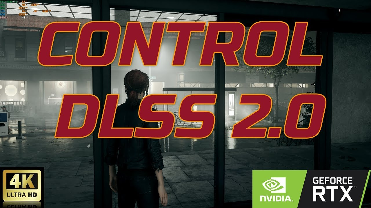CONTROL : DLSS 2.0 | Ultra Settings | Ray tracing | DX12 | 4K