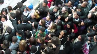 Pane Metrô Sé, Tumulto, Pancadaria, briga, confusão e passageiros exaltados.