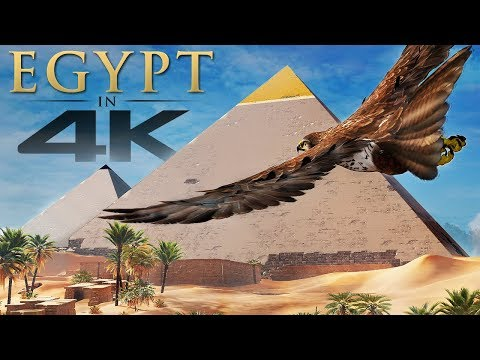Assassin's Creed Origins in 4K - BEST Open World Graphics 2017