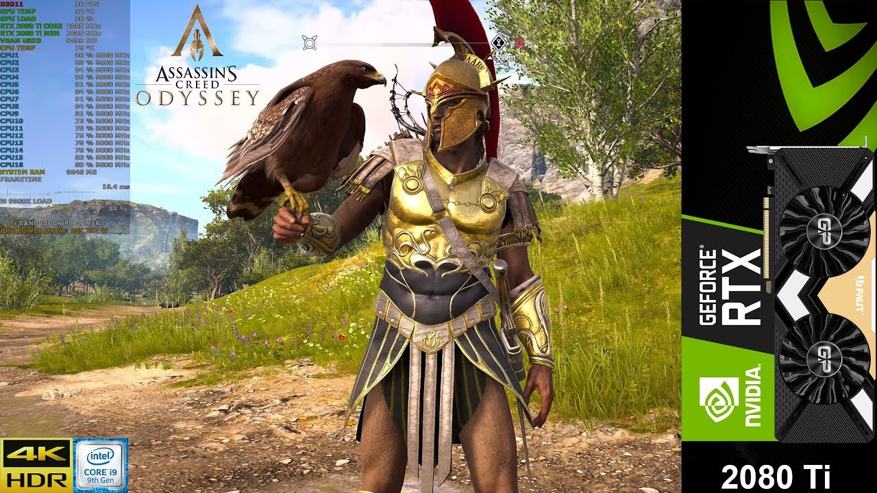 Assassin S Creed Odyssey Ultra Settings 4k Hdr Rtx 2080 Ti Oc