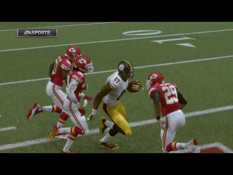 Madden 17 - Pittsburgh Steelers vs Kansas City Chiefs Playoff Simulation