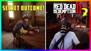 What Happens If You Return To The Saloon Wearing The Raccoon Man's Hat In Red Dead Redemption 2?