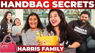 Harris Jayaraj's Wife & Daughter's HANDBAG SECRETS! | Suma Jayaraj | Nikitha Harris