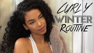 ❄ Winter Curly Hair Routine by: SunKissAlba