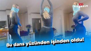 Hande Sarıoğlu'nun oryantal dansı