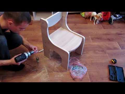 Как сделать своими руками детский стульчик