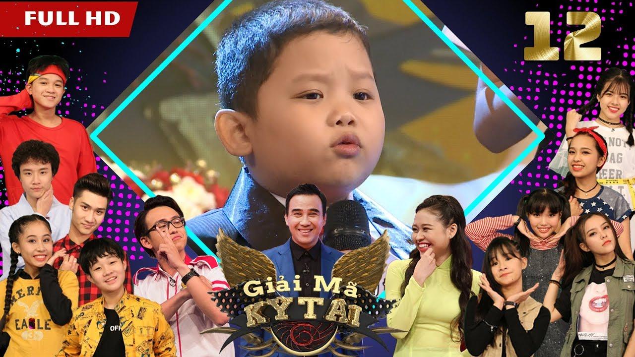 GIẢI MÃ KỲ TÀI | GMKT #12 FULL | Bé Quốc Huy 6 tuổi hát bolero khiến Quyền Linh 'nổi da gà' | 220118