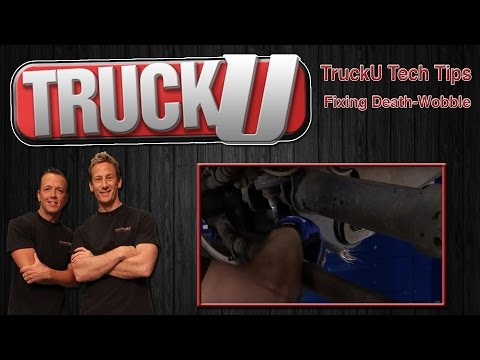 Fixing Death-wobble in your Truck | TruckU Tech Tips
