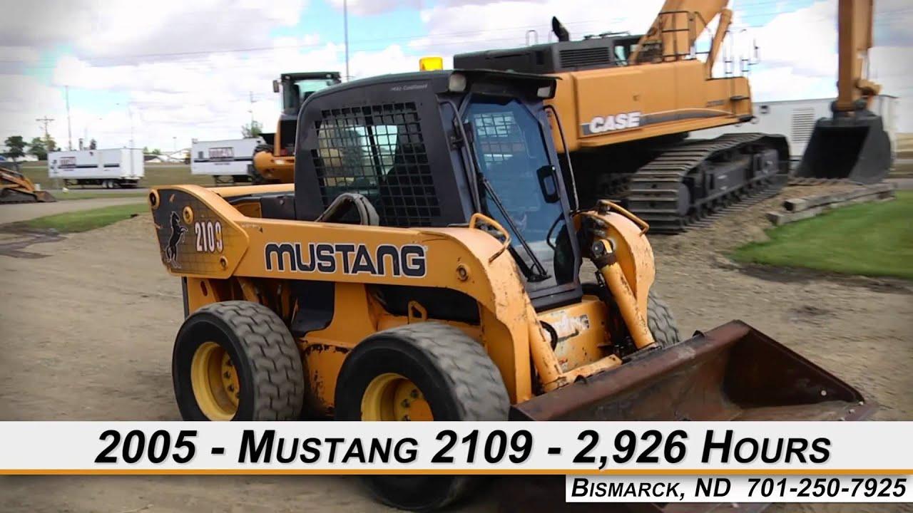 Mustang 2109 Skid Steer For Sale