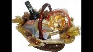 новогодние подарочные корзины