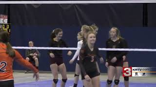 Plentywood defeats Belt at state volleyball