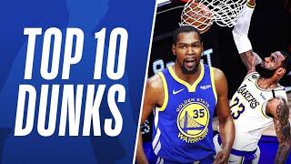 Top 10 DUNKS From Last 5 NBA FINALS 💥