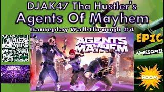 Agents Of Mayhem (PS4) | DJAK47 Tha Hustler's Gameplay Walkthrough #4