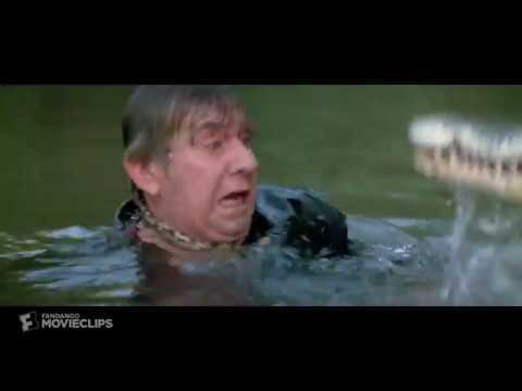 Croc Attack Scene From Crocodile Dundee Ii 1988 Hd Youtube