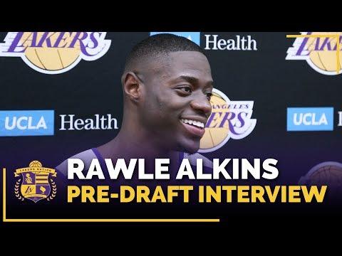 Arizona Guard Rawle Alkins 2018 Lakers Pre-Draft Interview