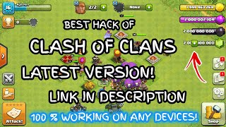 How To Hack CLASH OF CLANS Without Any Apps - NO ROOT