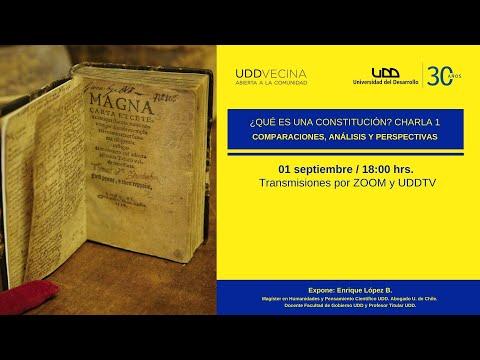 Ciclo: ¿Qué es una Constitución? Comparaciones, análisis y perspectivas