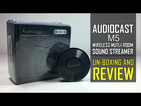 AudioCast M5 - WiFi Audio Streamer Receiver Adapter