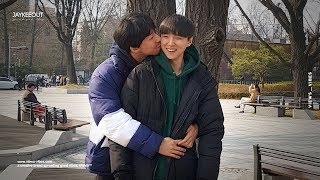 Download Video 👨❤️💋👨 gay couple kissing in front of koreans   social experiment MP3 3GP MP4