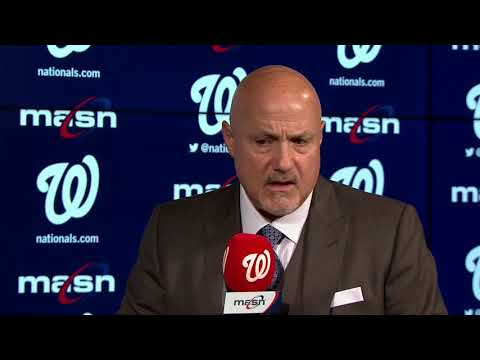 Mike Rizzo on hiring manager Dave Martinez