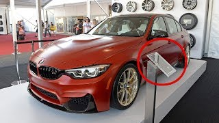 AWASOME! 2018 BMW M5 With M Performance Parts SEMA 2017