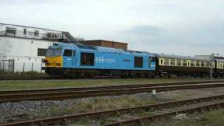 Railtours in North Lincolnshire - 2nd April 2011
