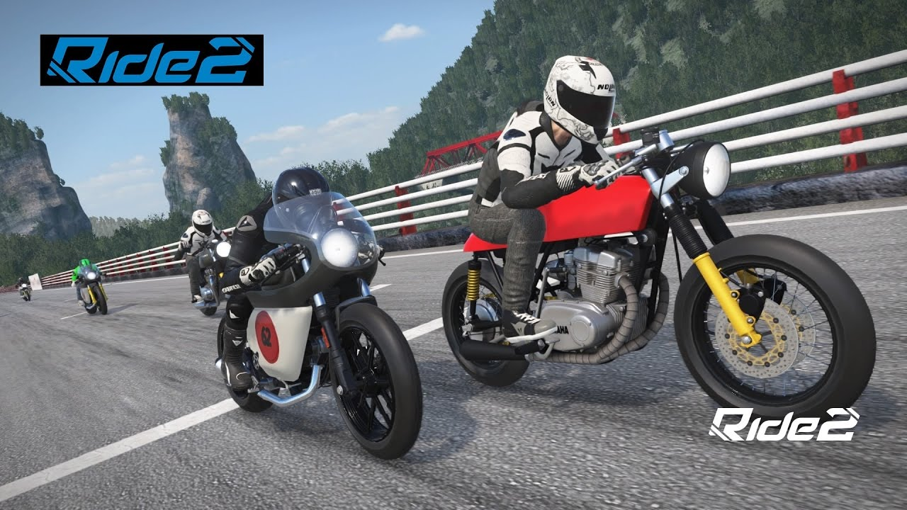 ride 2 ps4 fr world tour 2 caf racer le d but de la. Black Bedroom Furniture Sets. Home Design Ideas