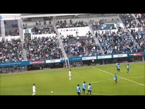 (カズダンス!)横浜FCvs松本山雅 20131103