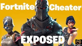 Fortnite Battle Royale Cheater EXPOSED!| Losers Always Got To Cheat