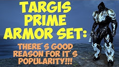 Warframe - Targis Prime Armour Set: Lets Take A Closer Look!!