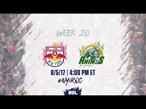 USL LIVE - New York Red Bulls II vs Rochester Rhinos 8/5/17