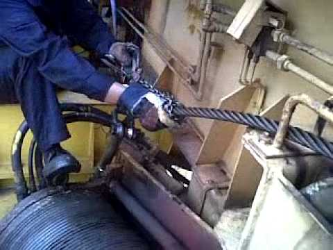 Wire Rope Change for Yard Cranes