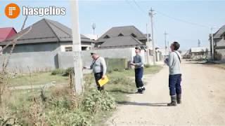 Сотрудники компании РОССЕТИ проводят технический аудит энергосистемы в Хасавюрте