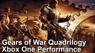 Xbox One Gears of War 1/2/3/Judgement Backward Compatibility Frame-Rate Test