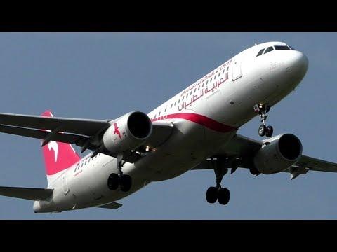 Air Arabia Airbus A320 Landing at London Gatwick Airport