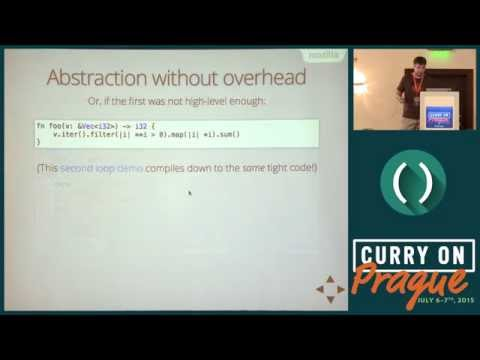 Felix Klock - Rust: A type system you didn't know you wanted - Curry On