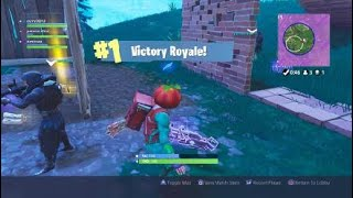 Fortnite battle royal win with password962 and curry30012
