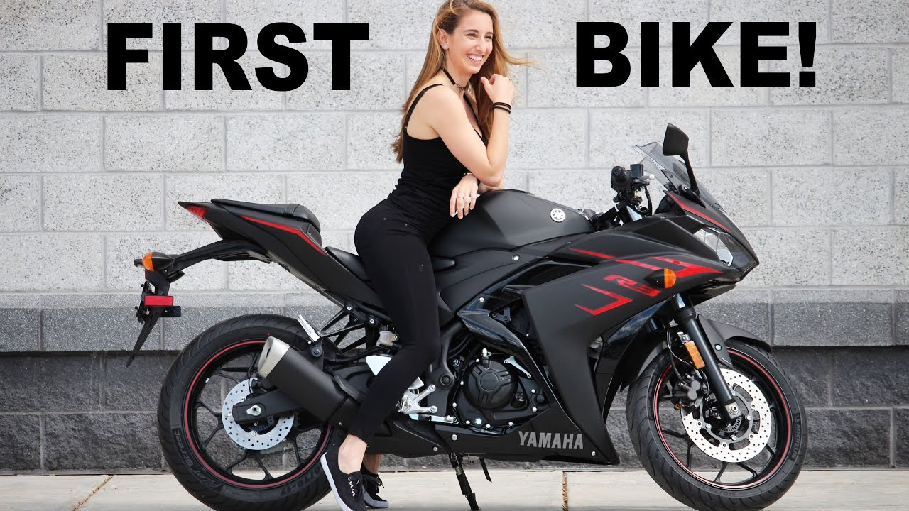 Girlfriends First Motorcycle 2017 Yamaha R3