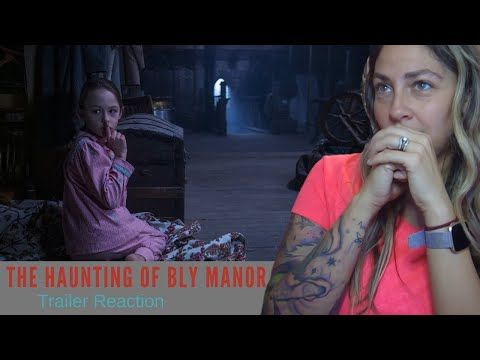 The Haunting Of Bly Manor Official Trailer Reaction Netflix Youtube