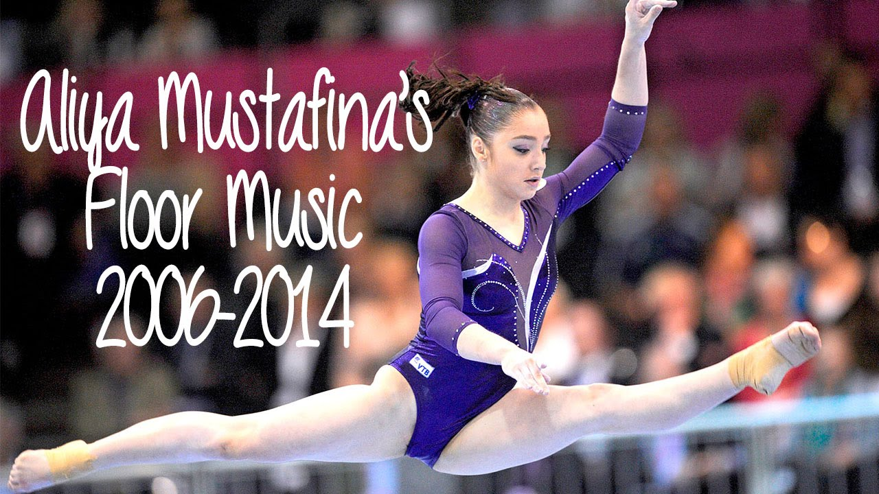 Aliya Mustafina S Floor Music 2006 2014 Youtube