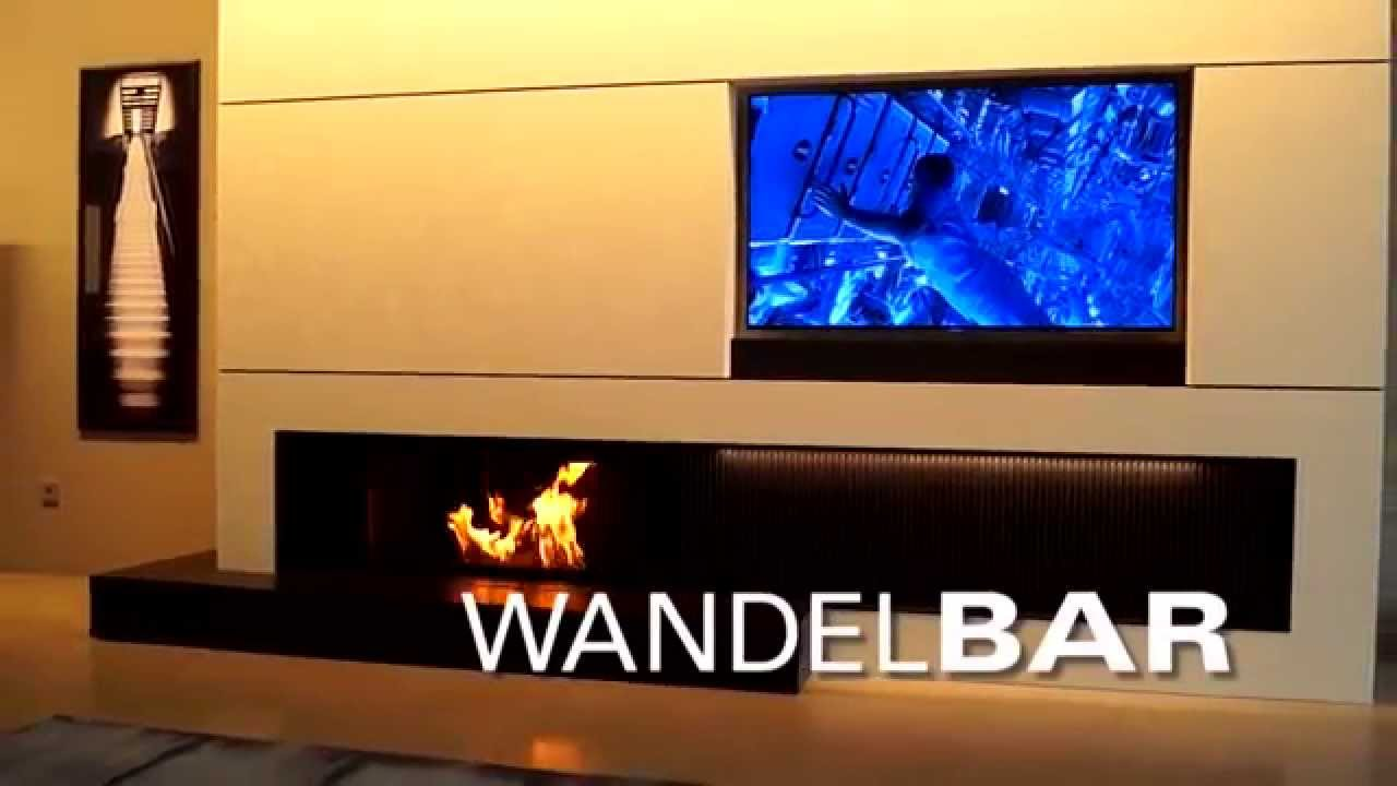 wandelbar kamin tv und bar faszinierend kombiniert youtube. Black Bedroom Furniture Sets. Home Design Ideas