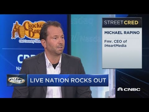 Live Nation CEO talks the summer concert season and pulse of entertainment  industry