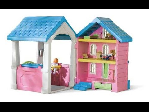 Little Tikes 2 In 1 Dollhouse Playhouse Cash Back Savings