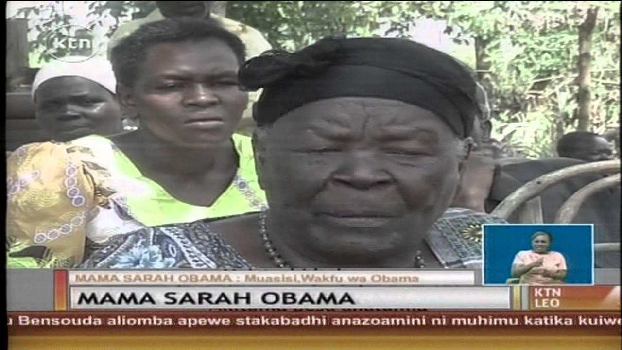 Download Mama Sarah Obama azindua wakfu wa wajane na mayatima