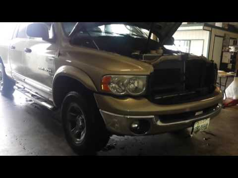 2007 Dodge RAM Pickup 1500 5.7 HEMI EGR Valve Location ...