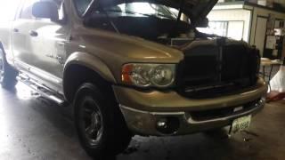 Dodge 5.7l Hemi Evap canister, PCV valve, & EGR valve locations.